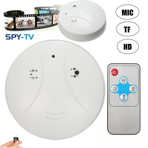 Indoor Hidden Spy Camera Smoke Detector 1