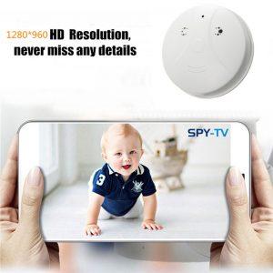 Indoor Hidden Spy Camera Smoke Detector 3