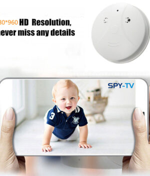 Indoor Hidden Spy Camera Smoke Detector 3