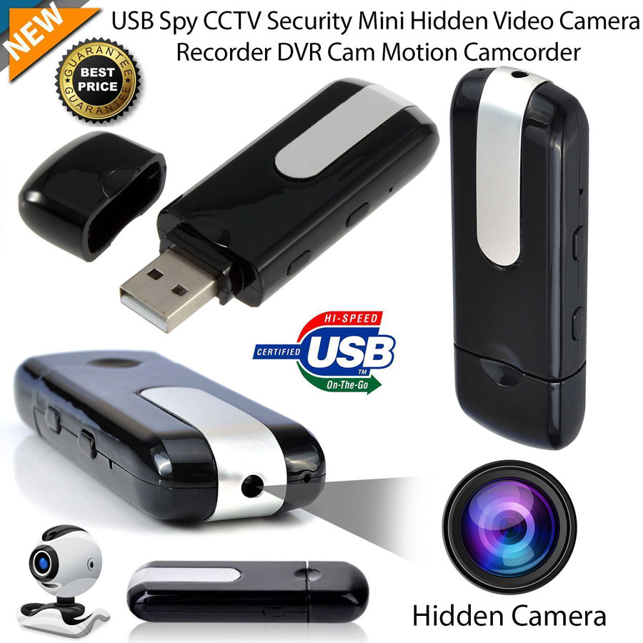 Mini Hidden Spy Camera USB DVR