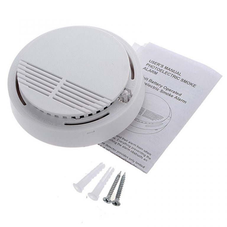 Wireless Smoke Detector Fire Alarm 6