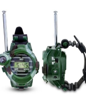 Childrens Walkie Talkie wrist watch camouflage 1 - 2pcs