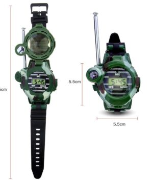Childrens Walkie Talkie wrist watch camouflage 1