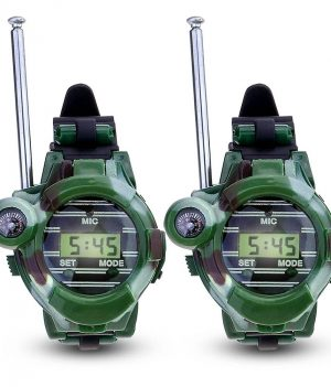 Childrens Walkie Talkie wrist watch camouflage - 2pcs