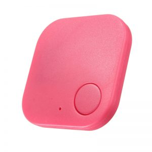 Smart Tag Bluetooth Finder - Red/Rose