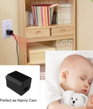 usb wall charger spy camera - 2