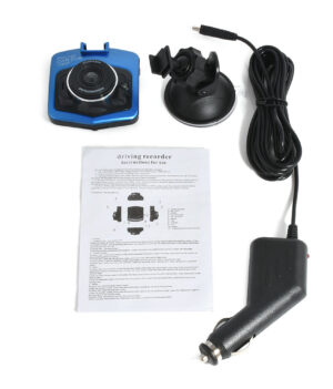 Car DVR Dash Cam - GT300 Blue Package