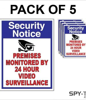 CCTV Video Surveillance Stickers